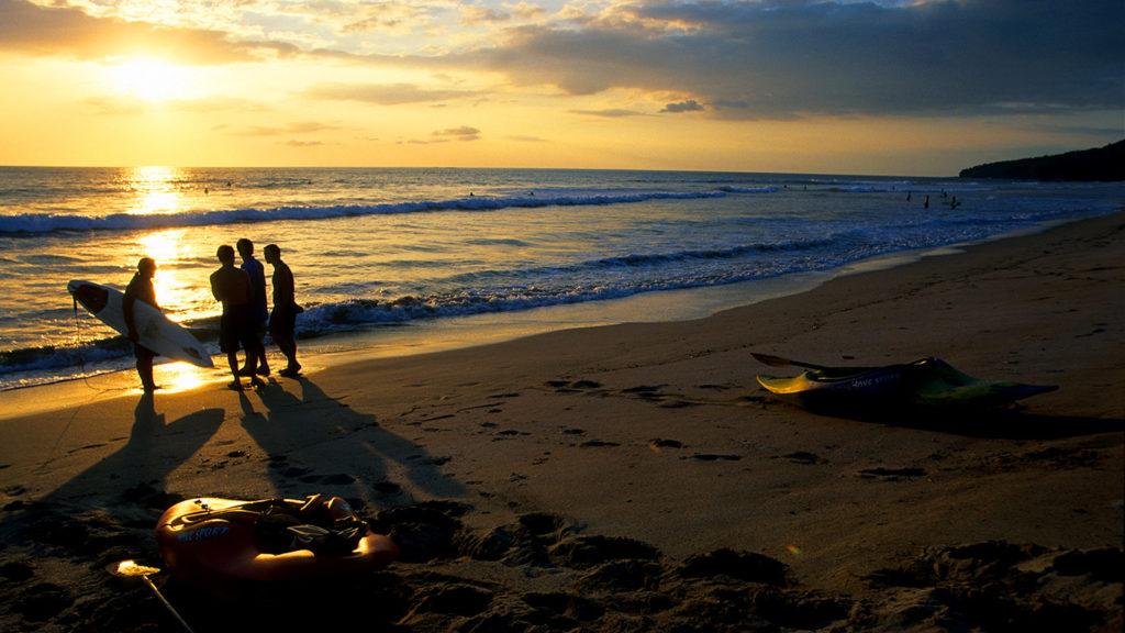 Costa Rica. Playas del Pacífico.