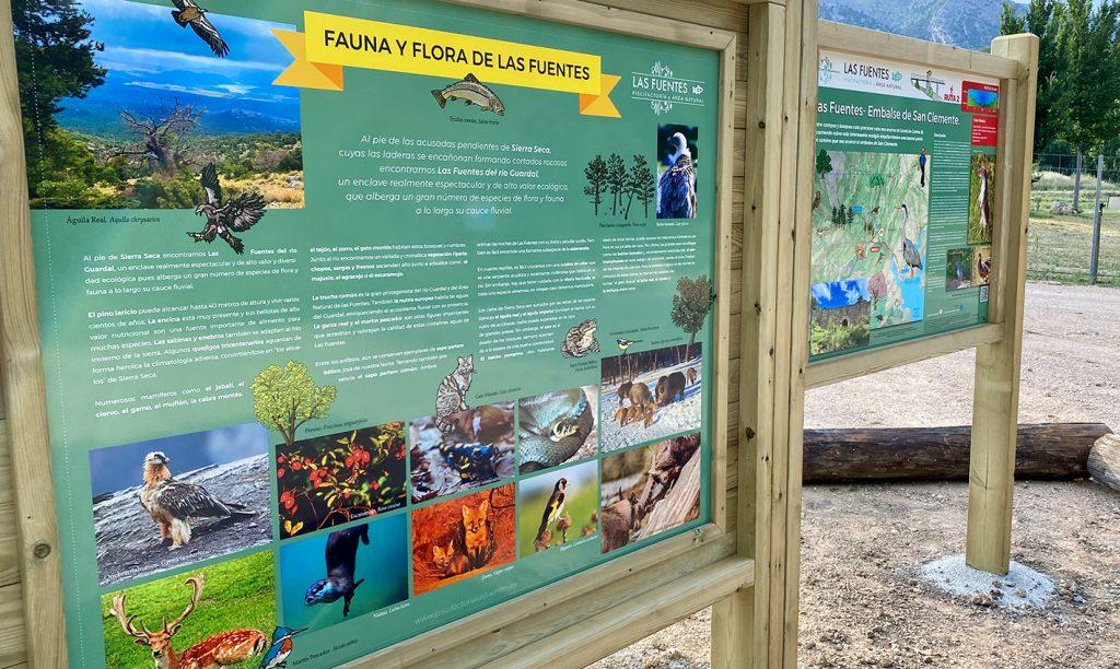 Paneles de fauna y flora