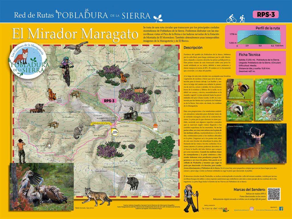 Señalización de rutas rurales